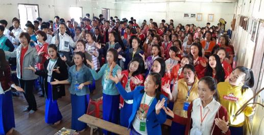 緬甸宣教 -黃玉萱