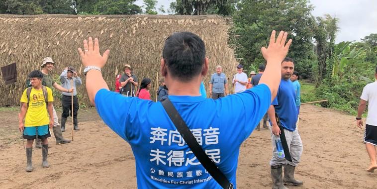 【重返奧卡族宣教士殉道之處】江冠明司景美深入亞馬遜叢林部落 聽見世界地極的呼聲